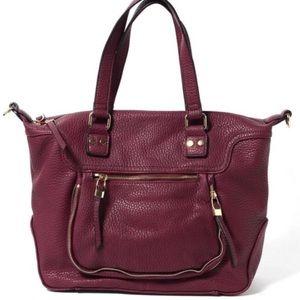 Urban expressions Torrey zip detail satchel
